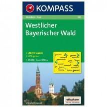 Kompass - Westlicher Bayerischer Wald - Cartes de randonnée