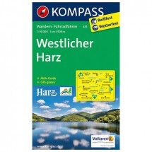 Kompass - Westlicher Harz - Wandelkaarten