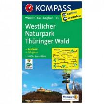Kompass - Westlicher Naturpark Thüringer Wald - Wanderkarte