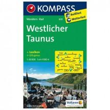 Kompass - Westlicher Taunus - Wandelkaarten