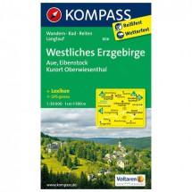Kompass - Westliches Erzgebirge - Wandelkaarten