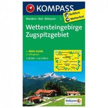 Kompass - Wettersteingebirge - Cartes de randonnée