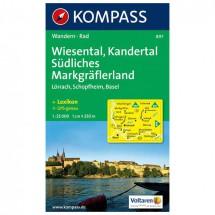 Kompass - Wiesental - Cartes de randonnée