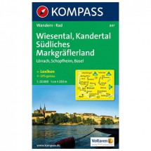 Kompass - Wiesental - Hiking Maps