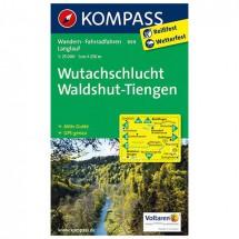 Kompass - Wutachschlucht - Wanderkarte