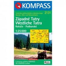 Kompass - Zapadne Tatry - Vaelluskartat