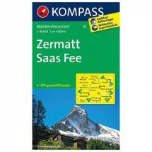 Kompass - Zermatt - Cartes de randonnée
