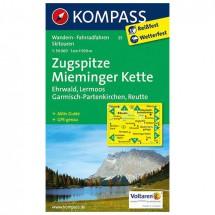 Kompass - Zugspitze - Wanderkarte