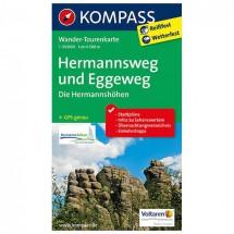 Kompass - Hermannsweg und Eggeweg, Die Hermannshöhen