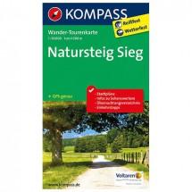 Kompass - Natursteig Sieg - Wander-Tourenkarte