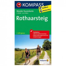 Kompass - Rothaarsteig - Wander-Tourenkarte