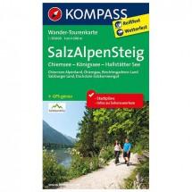 Kompass - Salz-Alpen-Steig - Wander-Tourenkarte