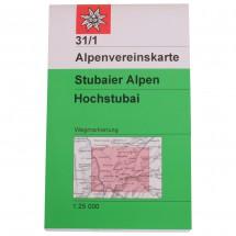 DAV - Stubaier Alpen, 31/1 - Hochstubai