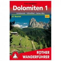 Bergverlag Rother - Dolomiten 1 - Guides de randonnée