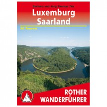 Bergverlag Rother - Luxemburg - Saarland - Wanderführer