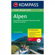 Kompass - Großer Wander-Atlas Alpen - Vaellusoppaat