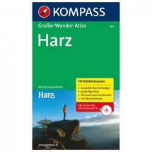Kompass - Großer Wanderatlas Harz - Guides de randonnée