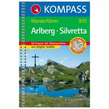 Kompass - Arlberg-Silvretta - Wandelgidsen