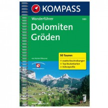 Kompass - Dolomiten /Gröden - Vaellusoppaat