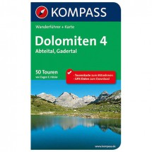 Kompass - Dolomiten 4, Abteital, Gadertal - Wandelgidsen