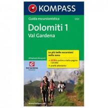 Kompass - Dolomiti 1, Val Gardena, italienische Ausgabe