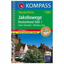 Kompass - Jakobswege Deutschland Süd 1 - Wanderführer