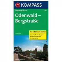 Kompass - Odenwald - Bergstraße - Wanderführer