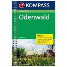 Kompass - Odenwald - Walking guide books