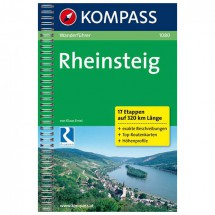 Kompass - Rheinsteig - Walking guide books