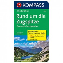 Kompass - Rund um die Zugspitze - Guides de randonnée
