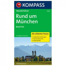 Kompass - Rund um München Band Ost - Walking guide books
