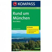 Kompass - Rund um München, Band West - Guides de randonnée