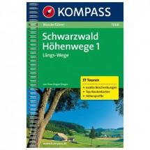 Kompass - Schwarzwald Höhenwege 1 - Hiking guides