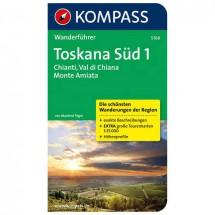 Kompass - Toskana Süd 1, Chianti, Val di Chiana,Monte Amiata