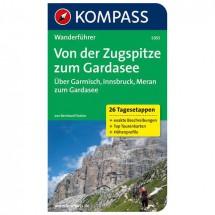 Kompass - Von der Zugspitze zum Gardasee, Weitwanderführer