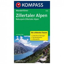 Kompass - Zillertaler Alpen - Walking guide books