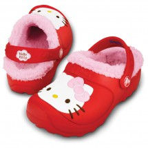 Crocs - Kids Hello Kitty Lined Custom Clog