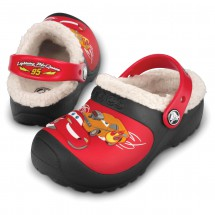 Crocs - Kids McQueen Drag Racing Lined - Clogs