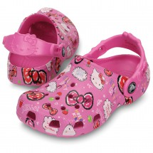 Crocs - Kid's Classic Hello Kitty Clog - Crocs sandales