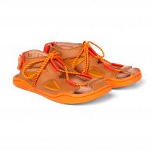 Affenzahn - Kid's Sandal Leather Lion mit Zehenkappe - Sandaler