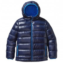 Patagonia - Boy's Highloft Down Sweater Hoody - Donzen jack