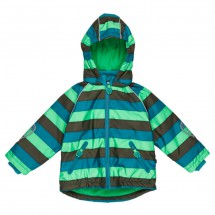 Ej Sikke Lej - Boy's Striped Outerwear Jacket - Winterjacke