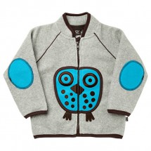 Ej Sikke Lej - Kid's Owl Fleece Jacket - Fleecejack