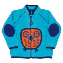 Ej Sikke Lej - Kid's Owl Fleece Jacket - Fleece jacket