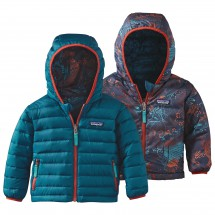 Patagonia - Baby Reversible Downsweater Hoody - Donzen jack