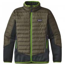 Patagonia - Boys' Down Hybrid Jacket - Doudoune