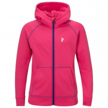 Peak Performance - Kid's Spikey Zip Hood - Fleece jacket