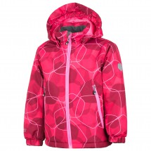 Color Kids - Kid's Rebel Padded Jacket AOP - Winter jacket