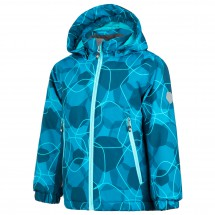 Color Kids - Kid's Rebel Padded Jacket AOP - Winterjacke