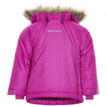 Minymo - Kid's Gam 24 Snow Jacket Herringbone - Winterjack